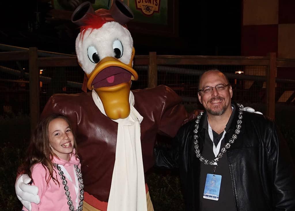 DVC 25th Anniversary Party at Magic Kingdom in Disney World Launchpad McQuack #dvc25
