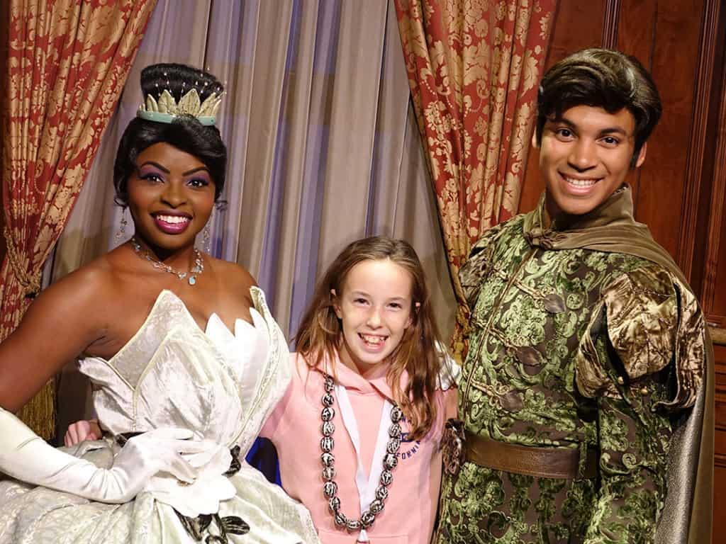 DVC 25th Anniversary Party at Magic Kingdom in Disney World tiana & naveen #dvc25