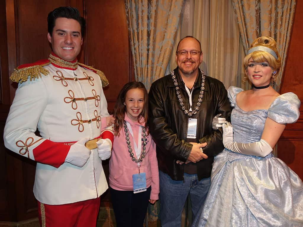 DVC 25th Anniversary Party at Magic Kingdom in Disney World Prince Charming & Cinderella #dvc25
