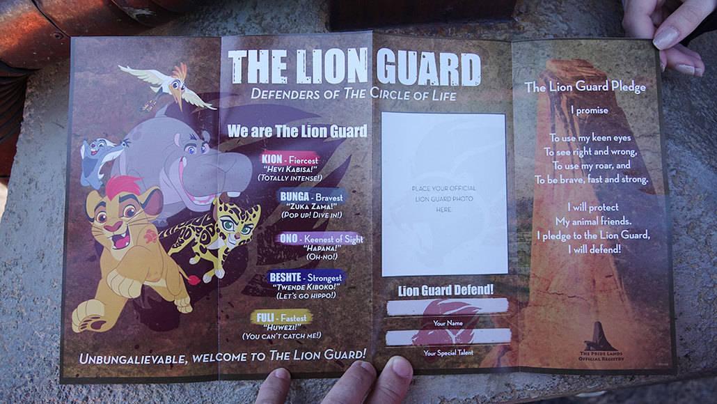 Lion Guard Adventure at Disney's Animal Kingdom (3)