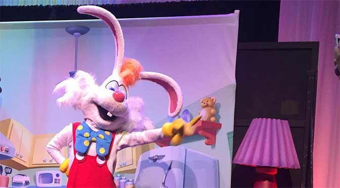 Roger Rabbit appearing for Disneyland Annual Passholders only this week!