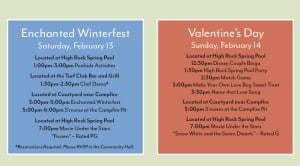 Saratoga Springs Valentines Activities