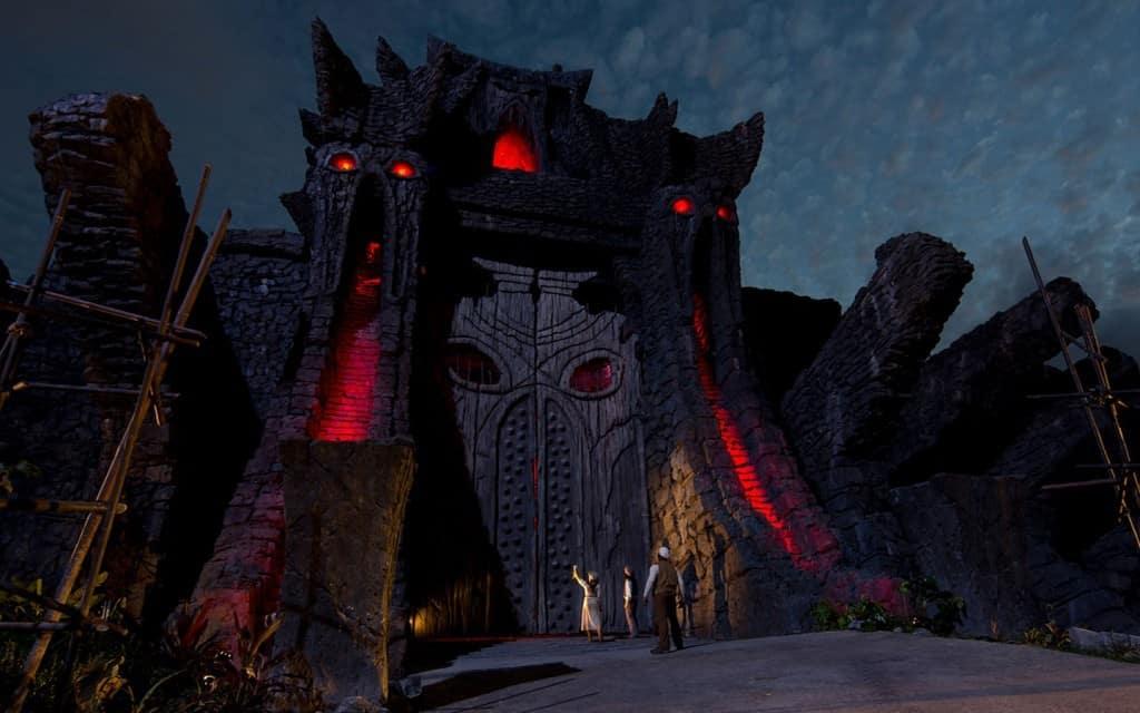 Skull Island Reign of Kong concept art doors