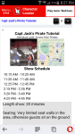 Character Locator Show Schedules