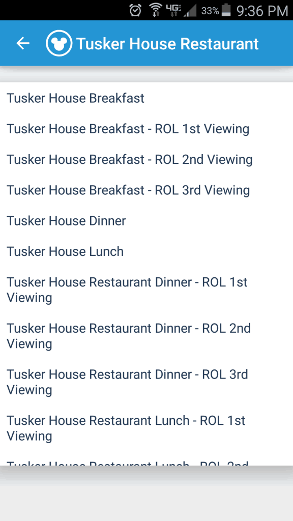 Tusker House restaurant in Animal Kingdom to offer Rivers of Light Reserved seating.