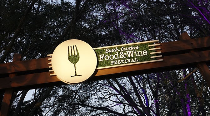 Busch Gardens Food and Wine Festival 2017 music lineup
