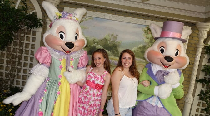 Easter Bunny at Magic Kingdom 2016