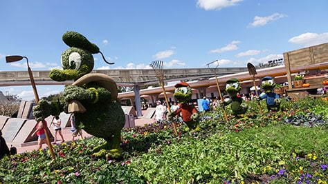 Epcot Flower and Garden Festival topiaries 2016 (2)