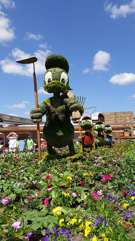 Epcot Flower and Garden Festival topiaries 2016 (3)