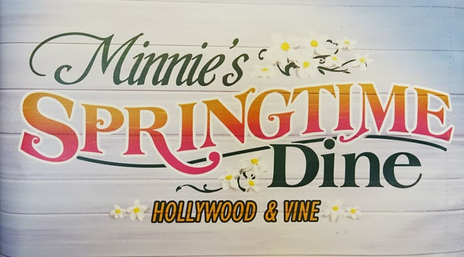 All you need to know about Minnie's Springtime Dine at Hollywood and Vine in Hollywood Studios