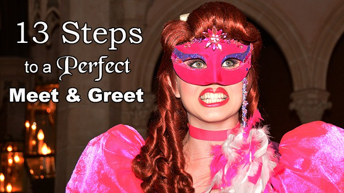 13 steps to a perfect Disney character meet and greet