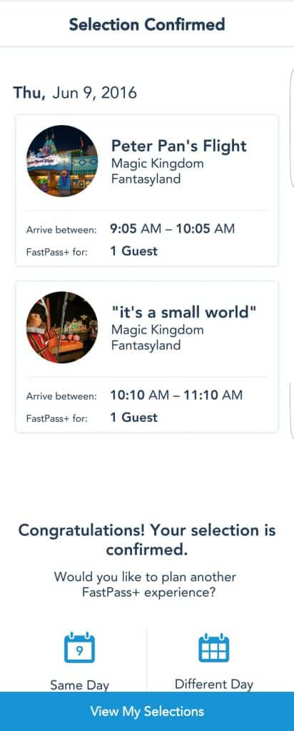 Changes to Disney World Fastpass+ System (10)