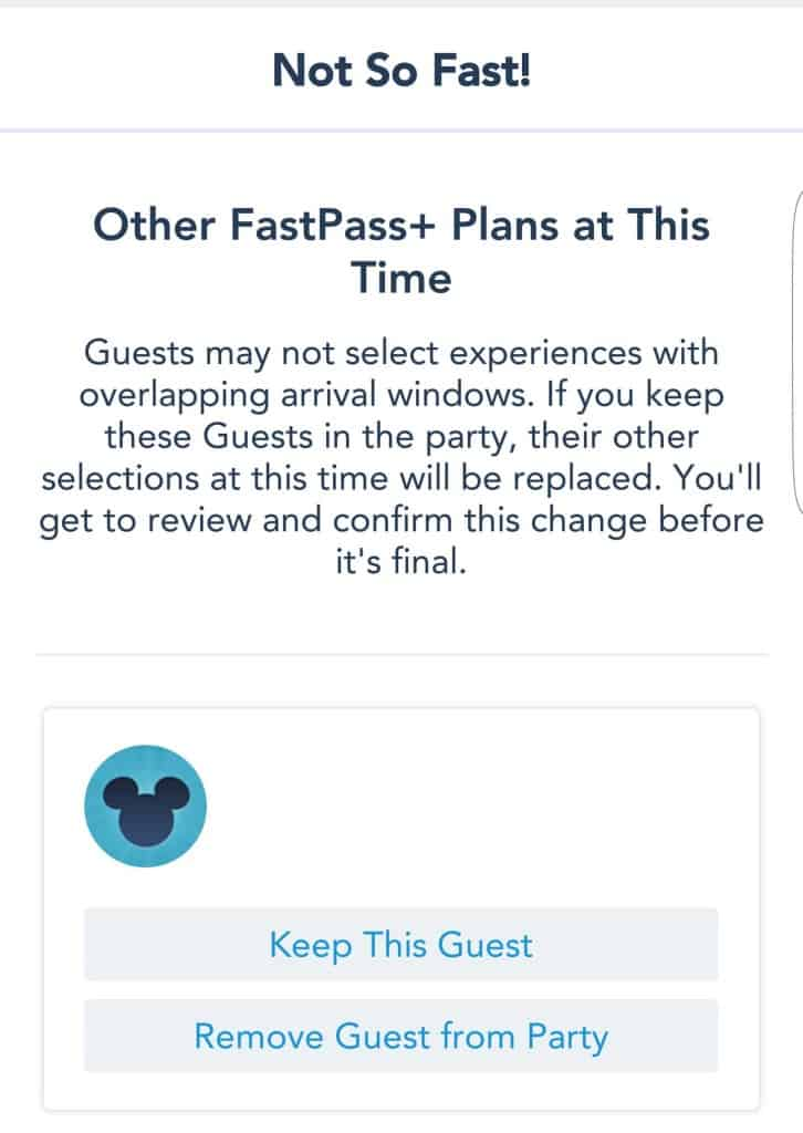 Changes to Disney World Fastpass+ System (11)