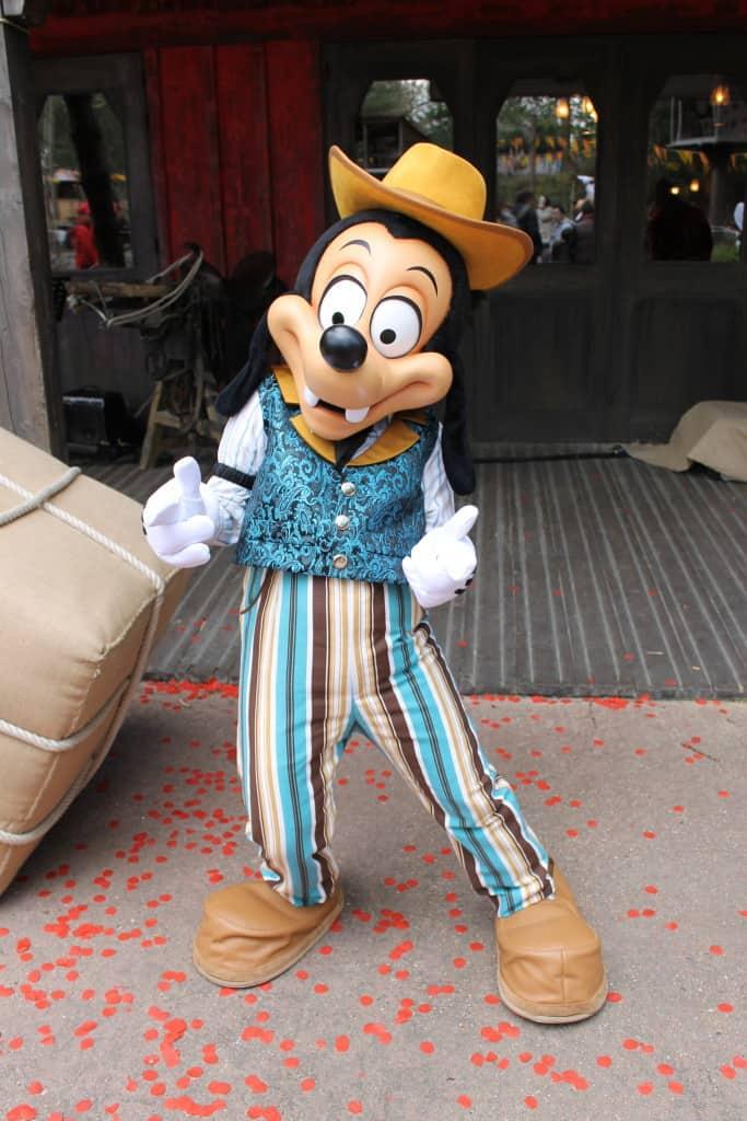 Max Goof at Disneyland Paris