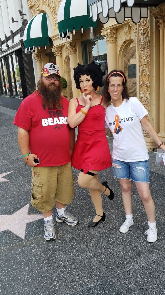 Universal Orlando Character Day with Ryan and Heather April 2016 (21) Betty Boop