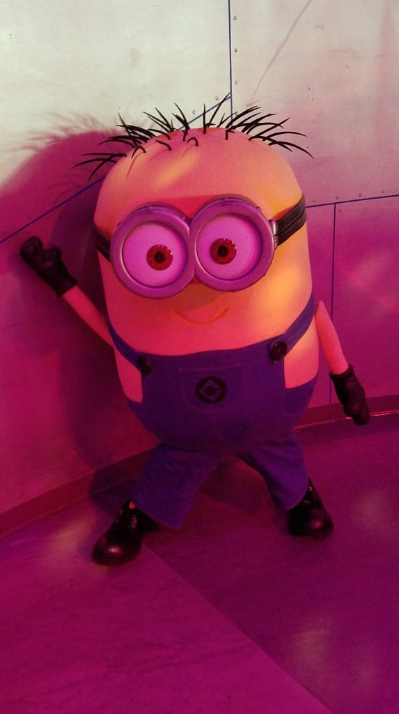 Universal Orlando Character Day with Ryan and Heather April 2016 (30) Jerry Minion