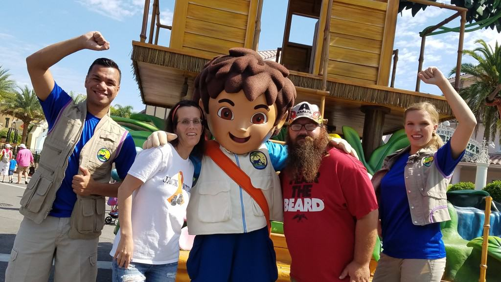 Universal Orlando Character Day with Ryan and Heather April 2016 (34) Diego