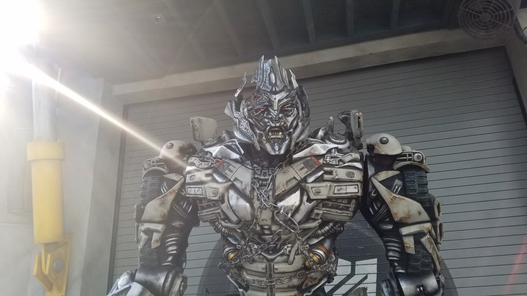 Universal Orlando Character Day with Ryan and Heather April 2016 (4) Megatron