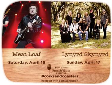 Meatloaf and Lynyrd Skynyrd coming to Busch Gardens