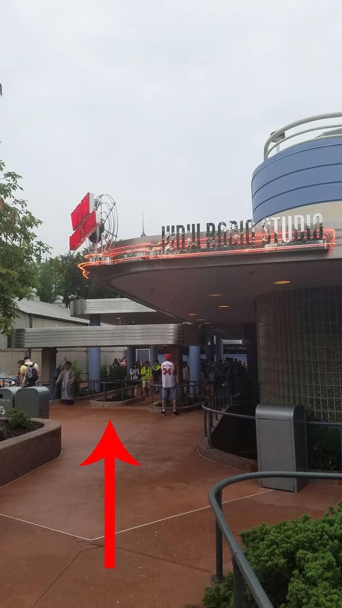 Olaf meet and greet in Hollywood Studios in Walt Disney World (1)