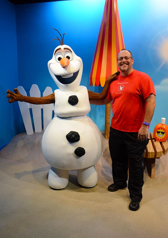 Olaf meet and greet in Hollywood Studios in Walt Disney World (12)