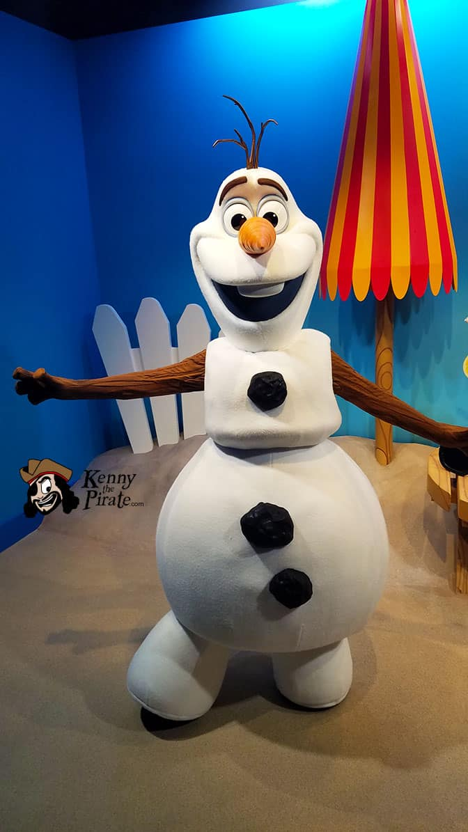 Olaf meet and greet in Hollywood Studios in Walt Disney World (8)