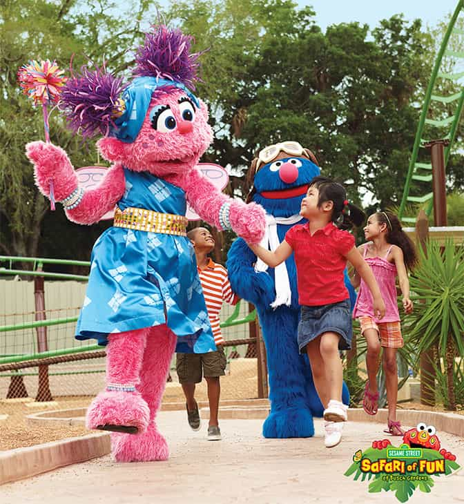 Sesame Street Safari of Fun Weekends