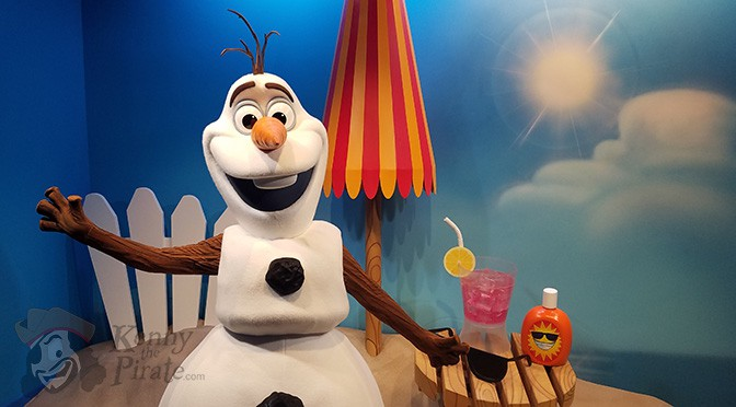 is olaf a meet and greet at disney world