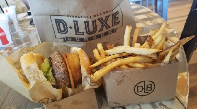 Review:  D-LUXE Burger in Disney Springs