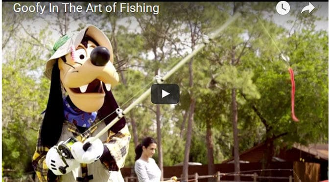 Goofy tries his hand at fishing again in this hilarious live-action video.