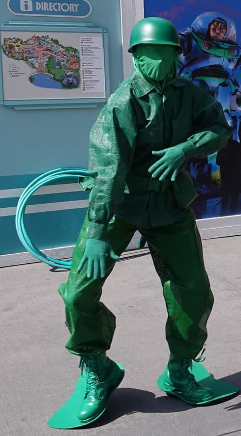 Green Army Man Bootcamp at Disney's Hollywood Studios in Walt Disney World