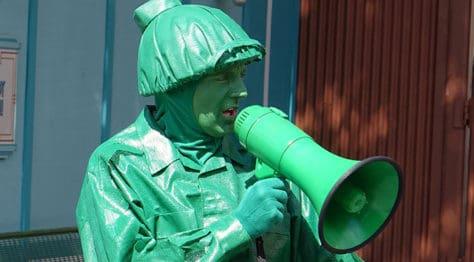 Green Army Man Bootcamp at Disney's Hollywood Studios in Walt Disney World