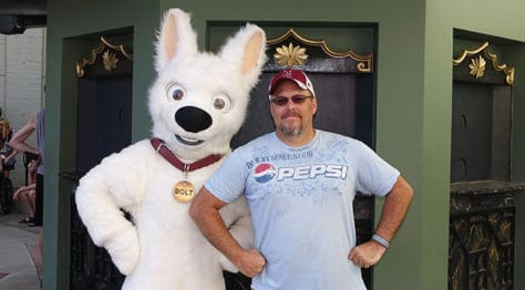 Hollywood Studios Bolt character meet and greet (2)