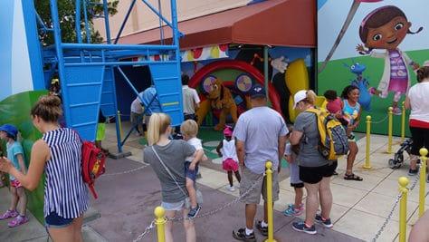 Hollywood Studios Disney Jr character meet and greets (2)