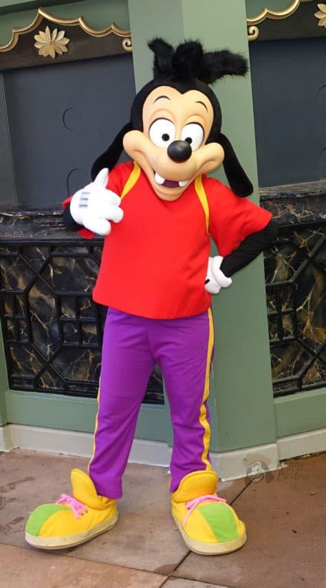 Hollywood Studios Max Goof Character meet and greet (1)