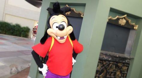 Hollywood Studios Max Goof Character meet and greet (2)