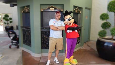 Hollywood Studios Max Goof Character meet and greet (3)
