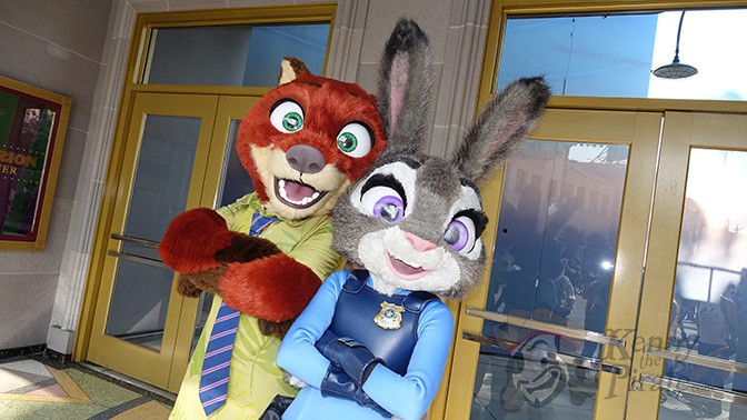 How to meet Nick and Judy from Zootopia at Disney California Adventure (1)