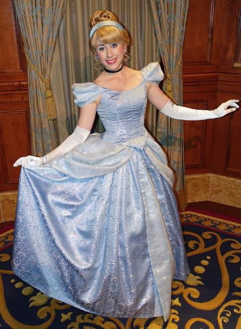 Meet Cinderella in Magic Kingdom at Walt Disney World (1)
