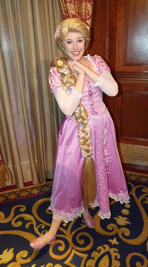 Meet Rapunzel at Magic Kingdom in Walt Disney World (1)