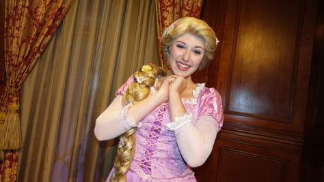 Meet Rapunzel at Magic Kingdom in Walt Disney World (2)
