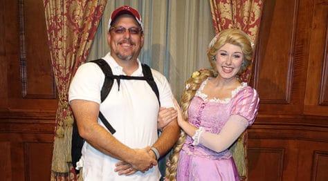 Meet Rapunzel at Magic Kingdom in Walt Disney World (3)