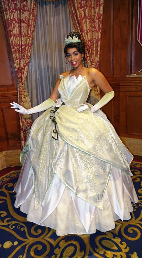 Meet Tiana at Magic Kingdom in Walt Disney World (1)