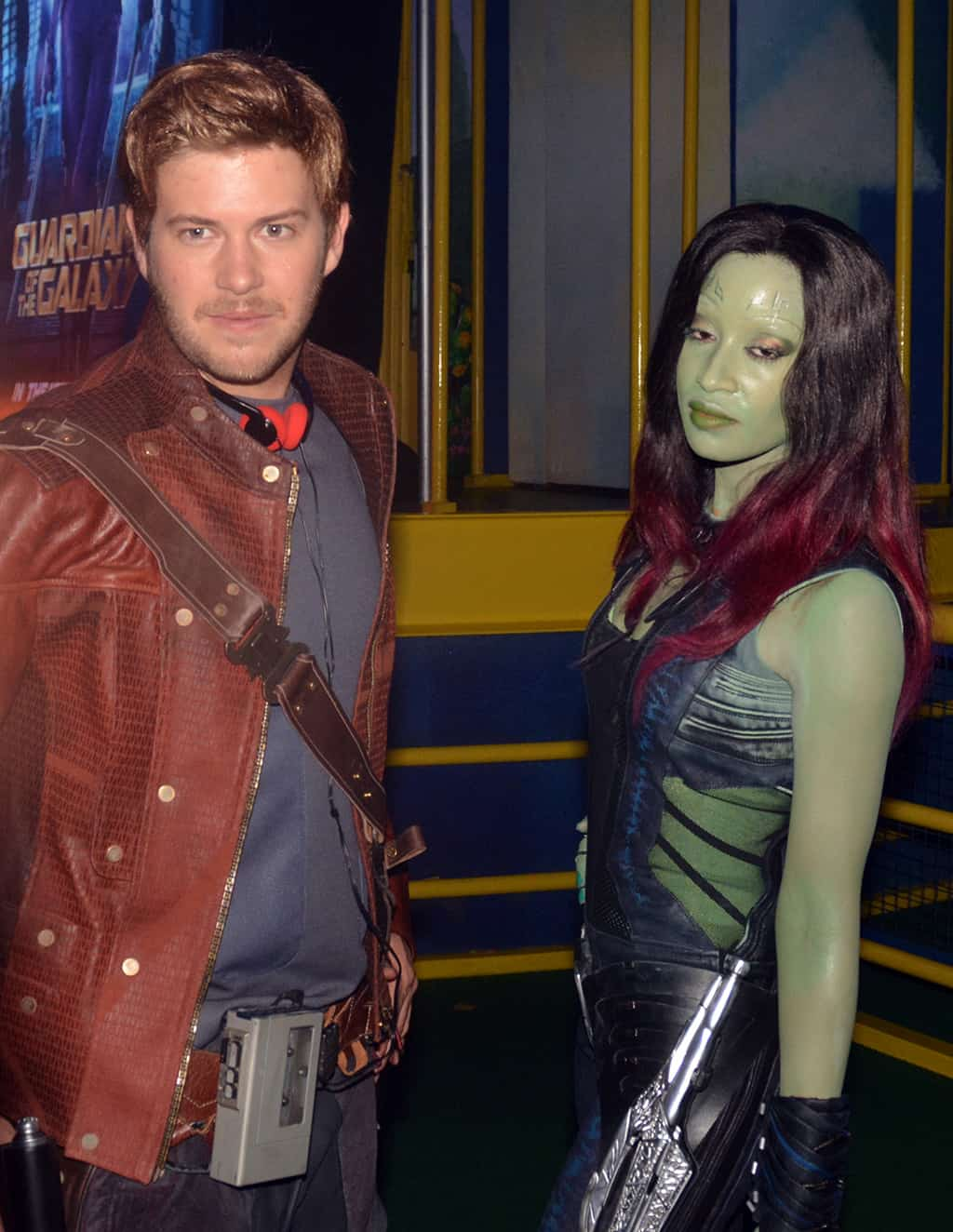 Star-Lord and Gamora Villains Unleashed at Hollywood Studios August 2014