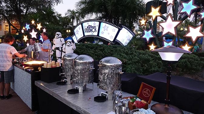 Star Wars A Galactic Spectacular Fireworks Dessert Party at Hollywood Studios in Walt Disney World (51)