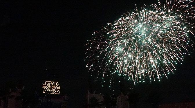Star Wars A Galactic Spectacular Fireworks Dessert Party at Hollywood Studios in Walt Disney World (69)