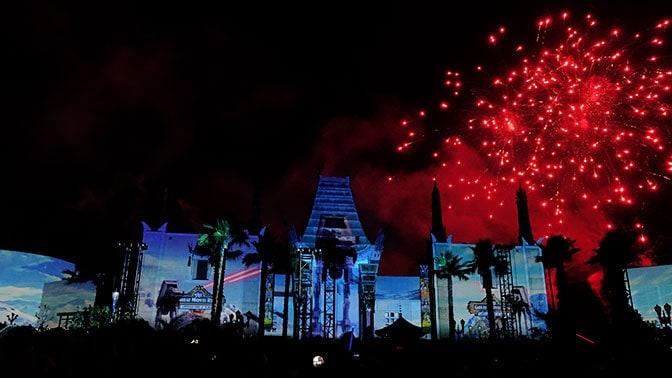 Star Wars A Galactic Spectacular Fireworks Dessert Party at Hollywood Studios in Walt Disney World (71)