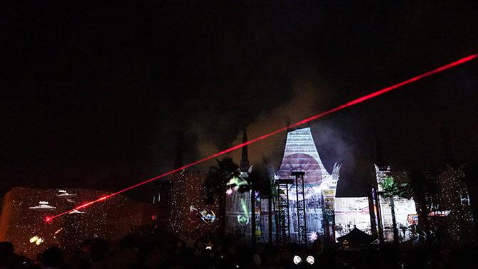 Star Wars A Galactic Spectacular Fireworks Dessert Party at Hollywood Studios in Walt Disney World (72)