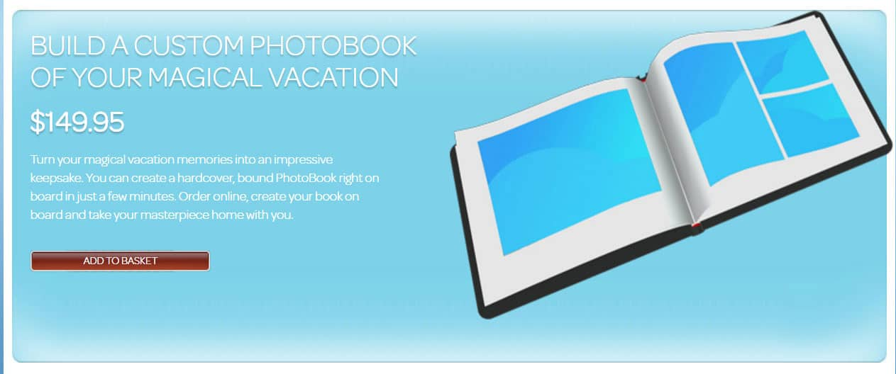 Disney Cruise Line Photobook