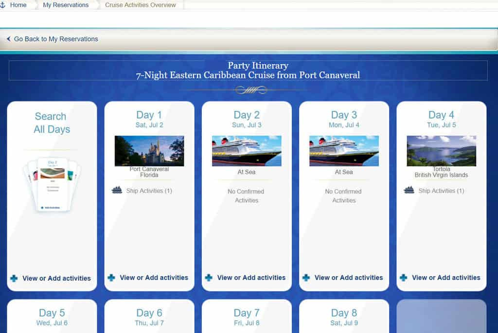 How to book special meet and greets on a Disney Cruise (1)